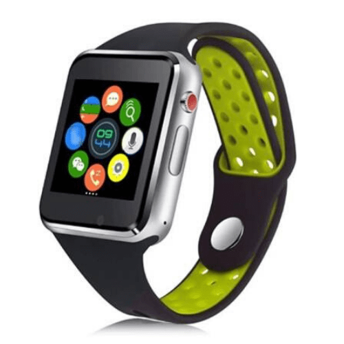 MIWEAR M3 2G Green Smartwatch, Bluetooth Call & SMS Notification SIM card SD card & Anti-Lost Gadgetmou