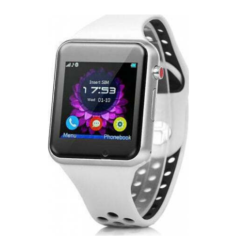 MIWEAR M3 2G Withe Smartwatch, Bluetooth Call & SMS Notification SIM card SD card & Anti-Lost Gadget mou