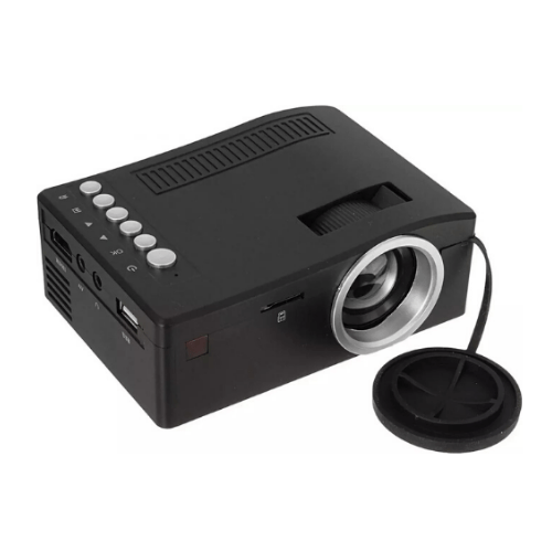 Mini Projector UC18 Plus Black gadget mou