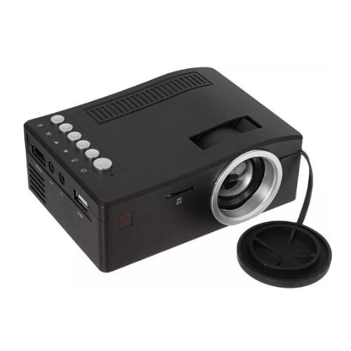Mini Projector UC18 Plus Black gadget mou
