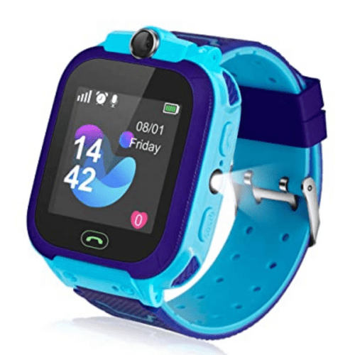 Q12 Children's Smartwatch Blue Waterproof LBS Positioning