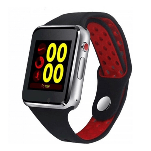 Red MIWEAR M3 2G Smartwatch, Bluetooth Call & SMS Notification SIM card SD card & Anti-Lost Gadget mou