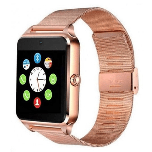 Smartwatch Vidhon Z60 Gold Social media App Bluetooth TF Card GSM Camera, IP67 gadget mou