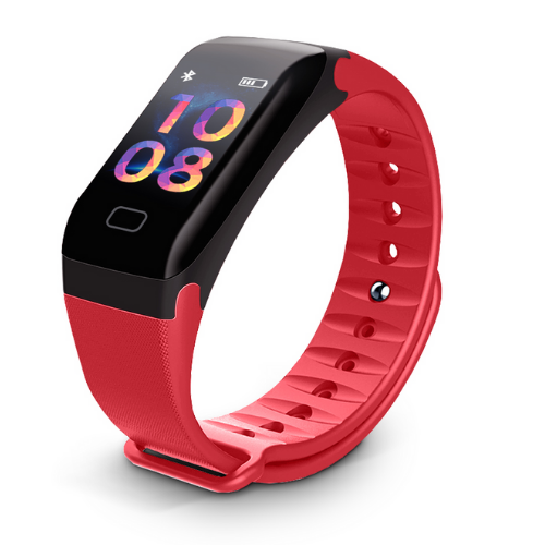 Sport Wristband LEMONDA P1 Red gadget mou