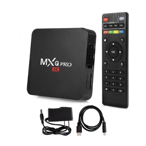 MXQ PRO+ Android 7.1.2 S905X 4K KODI 17.3 TV BOX 2GB/16GB 2.4G/5G WIFI LAN Bluetooth HDMI - Black