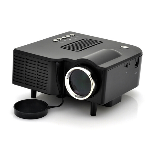 UC28+ Mini Portable LED Projector- Black