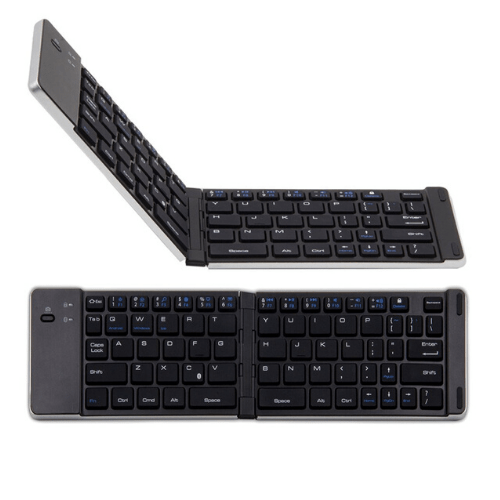 Universal Bluetooth Folding Keyboard For Android, Windows, IOS - F66 Gadget mou