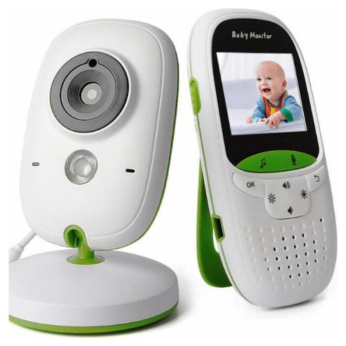 """Ασύρματο Baby monitor με οθόνη 2"""", κάμερα νυχτός και νανουρίσματα - VB602"""