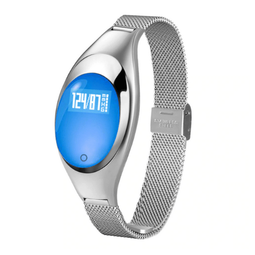 Z18 Women Smart Bracelet Compatible With Android & IOS – Silver