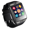 Smart Watch With Camera Bluetooth Smartwatch Fitness Activity Tracker Sport Watch For Android - Q18 Black