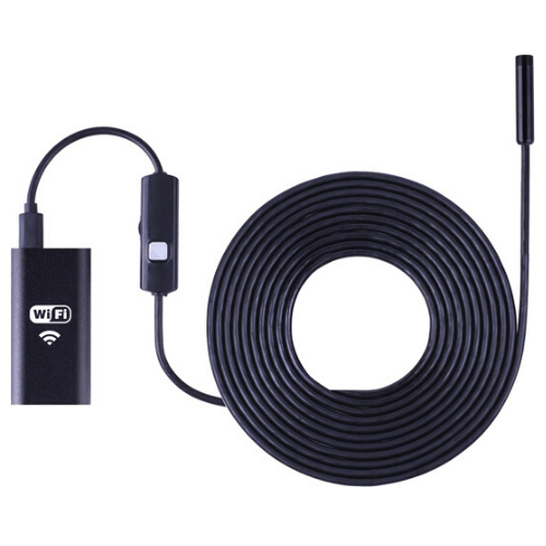 720P Wifi 8mm 1/2/3/5M USB Mini Waterproof Soft Cable Inspection Camera Endoscope Borescope for Android & IOS
