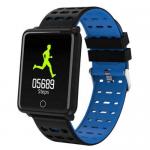 Waterproof sport watch, Health Tracker Bracelet F3 Blue Gadget mou