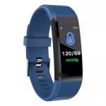 Weatherproof Smart band Fitness Tracker 115Plus Blue gadgetmou