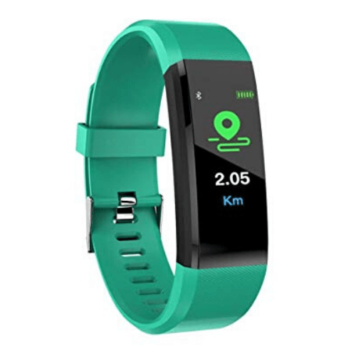 Weatherproof Smart band Fitness Tracker 115Plus Green Gadgetmou