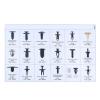 Wenchang 415pcs Push Retainer Clips Kit W06 gadgetmou