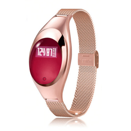 Z18 Women Smart Bracelet Compatible With Android & IOS - Χρυσό Gadget mou