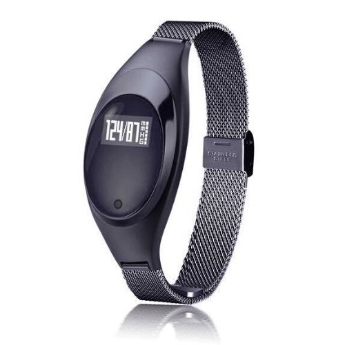 Z18 Women Smart Bracelet Compatible With Android & IOS - Black