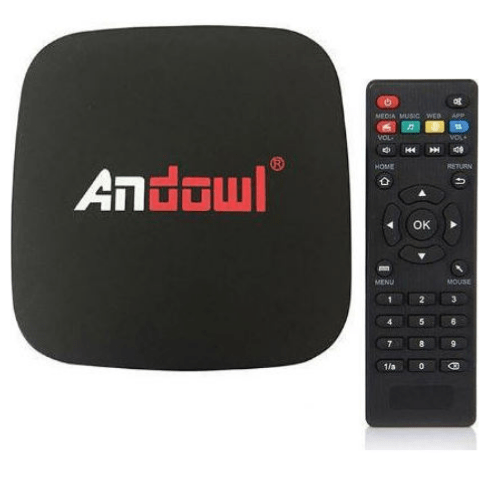 Andowl TV Box Lite 4k HD Smart TV Wifi 2GB RAM +16GB ROM- Q4