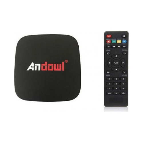 Andowl TV Box Lite 4k HD SmartTv Wifi 2GB RAM +16GB ROM- Q4