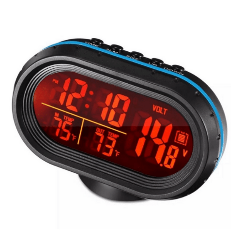 Car Digital Clock with Thermometer VST-7009V