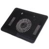 High Performance Super Slim Notebook Cooling Pad For 17″ Laptop - N191 Black