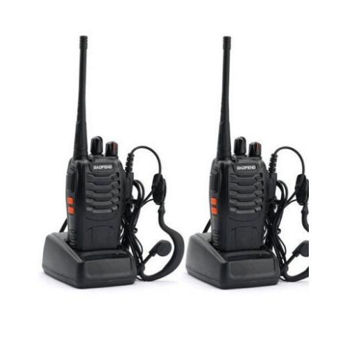2 Walkie-Talkie UHF Baofeng BF-888S 3W 400-470 MHz