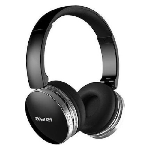 AWEI A500BL Bluetooth Foldable Earphone 2 in 1 Wired and Wireless Bluetooth Headphone with Microphone