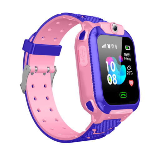 Q12 Children's Smartwatch Pink Waterproof LBS Positioning