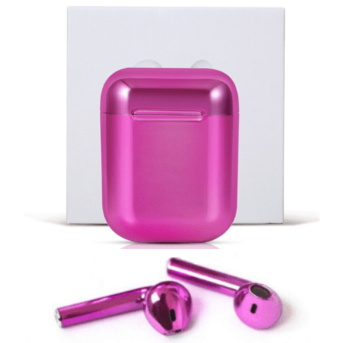 Unique Design Bluetooth Wireless TWS Earbuds JY-01 Pink Gadget mou