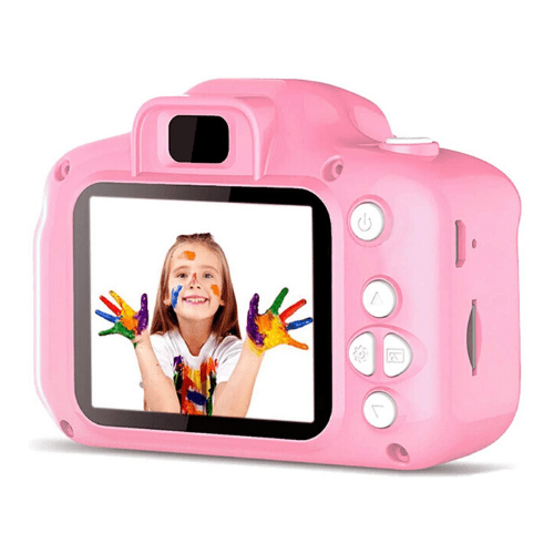 Children Mini Camera, Picture video and voice recorder for kids, Rechargeable, 2 inch HD Screen, Educational Toys OEM-X2 (Pink)