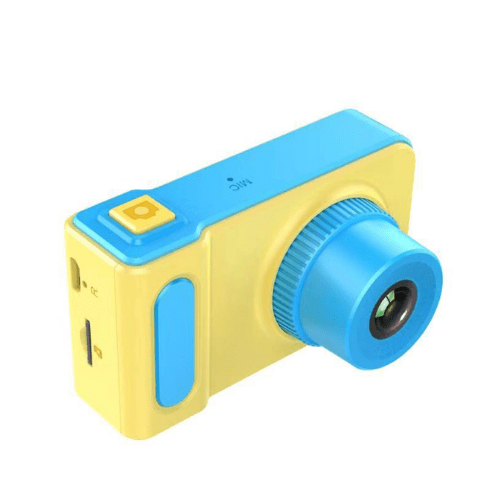 Children's Camera 2-inch LCD Screen, Picture, video recorder and Games, Rechargeable Battery, GOUP K7 Blue TD-KD001