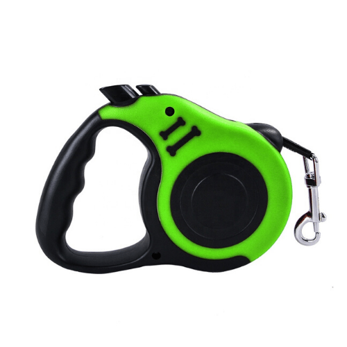 Dog Leash Automatic Retractable Walking Collar Dog and Cat SJ-188-5M Green