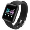 Fitness Smartwatch Activity Tracker 116 Plus Black