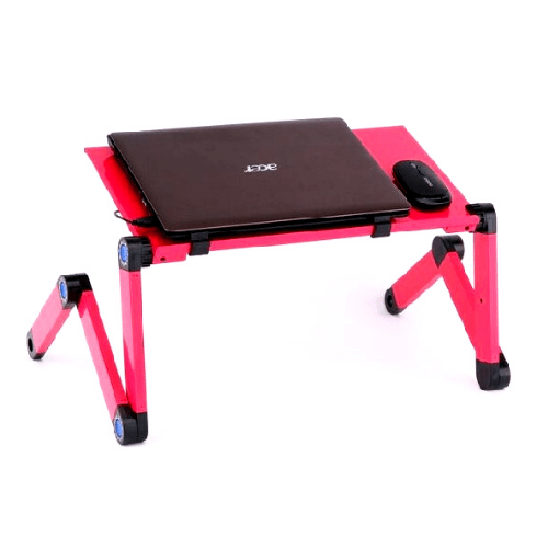 Laptop Foldable Table Omeidi T6 - Pink