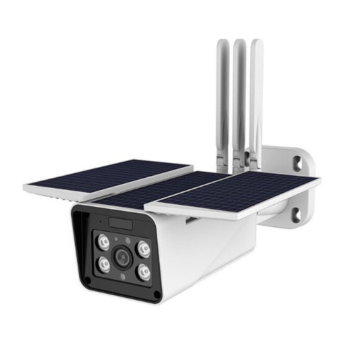 Solar Powered Smart WIfi Camera for Outdoor Use ZC-IPC216 - White