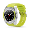 Sport SIM card Smart Watch with Anti-Lost Monitoring and Greek Menu, Bluetooth 3.0 OEM V8 - Green