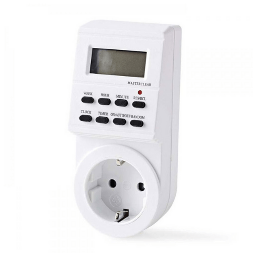 Weekly Electronic Timer 3600W NEDIS TIME02