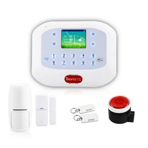 Wireless Home Security Alarm with GSM+PSTN and RFID function Alarm System DY-GSM50A