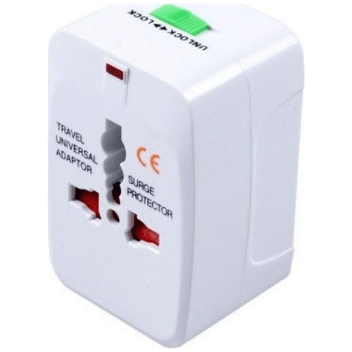 All-In-One International Travel Plug Adapter, Universal Worldwide Travel Adaptor with EU converter Plug - OEM - YD-931