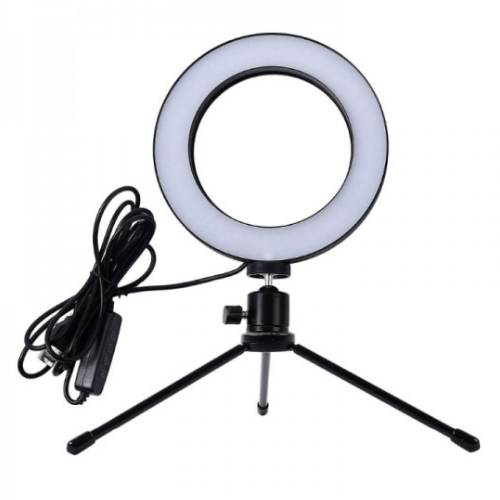 Aria Trade Ring Fill light For Selfie with Tripod OEM - GK2008 Gadget mou