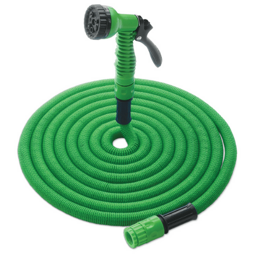 Flexible Expandable Magic Pipe Garden Watering With Spray Gun To Watering 22,5m 72′ OEM JK-GH (Green)