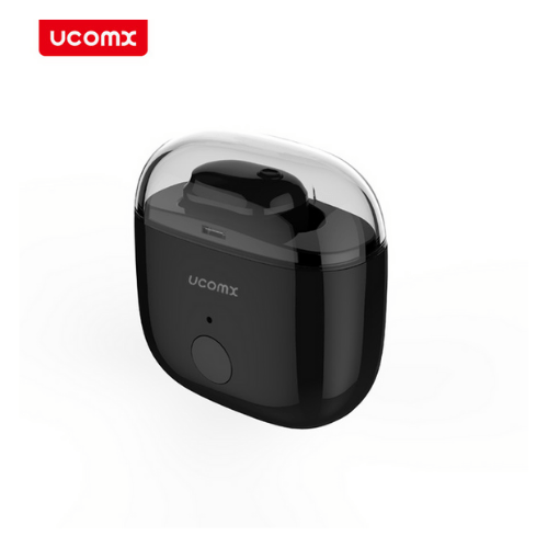 Mini Bluetooth Headset In-Ear Wireless Earbud with Microphone Hands-free Earpiece for Smartphone UCOMX U6P