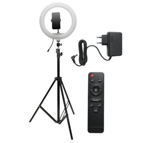 Professional Ring Fill Light with Remote Control 30cm Selfie Ring Light LED YQ-320A