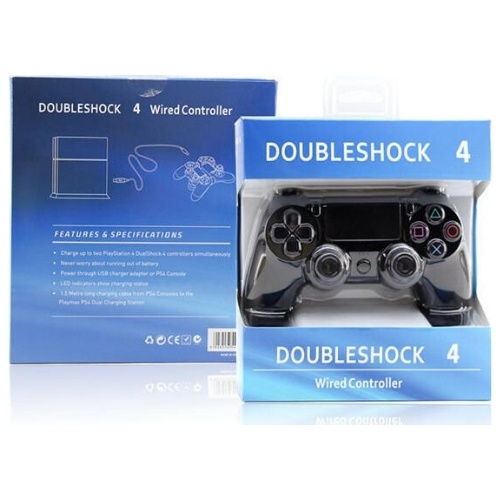 Doubleshock 4 Wired Controller Gamepad for PS4/PC