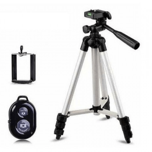 Mobile Tripod Stand Dk 3888 with Bluetooth Remote Control