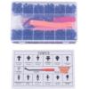 Car Auto Push Pin Rivet Trim Clip Panel Body Interior Assortment Set with Free Fastener Remover Wenchang W11315 (229pcs)