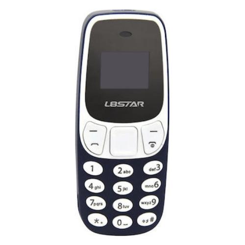 L8Star BM10 0.66'' OLED 350mAh Wireless Bluetooth Dialer Dual SIM Dual Standby Mini Card Phone - Black