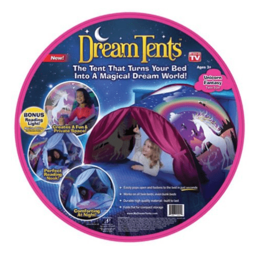 Unicorn Fantasy Age 3+ Kids Bed Tent
