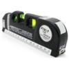 Laser Level Pro 3 8FT Cross Line Laser 680nm Ruler Measure Leveling Tools Horizontal Vertical Measure Equipment Adjusted