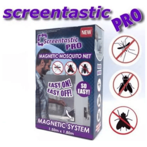 Screentastic Pro Magnetic Mosquito Net 1.50 x 1.80 cm